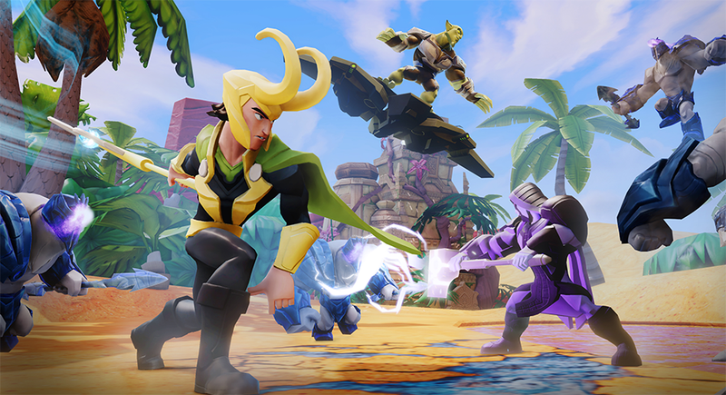 Disney Infinity 2.0 Gets Combat Support From Ninja Theory