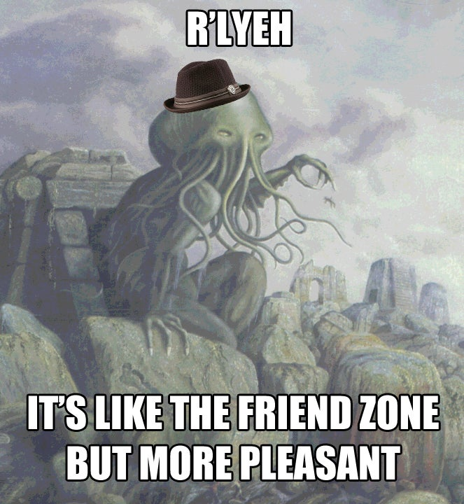 Feminist Yog-Sothoth will drive you insane after getting your consent