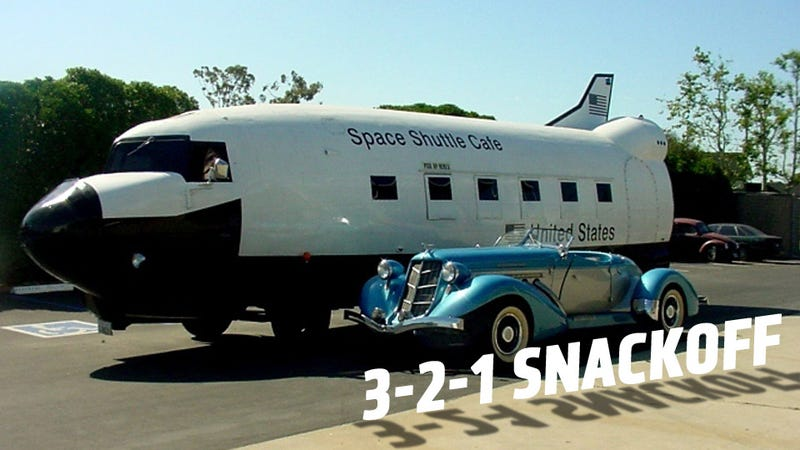 You Can Own This Space Shuttle Food Truck