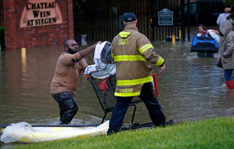 Louisiana Deals With Unprecedented Flooding as Water Levels Continue to Rise
