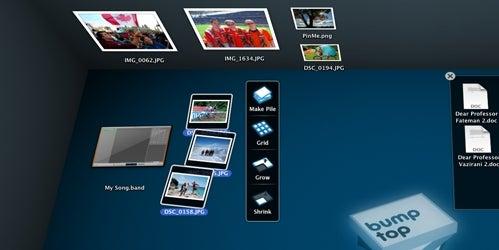 BumpTop Mac Makes Your Desktop a 3D Entity