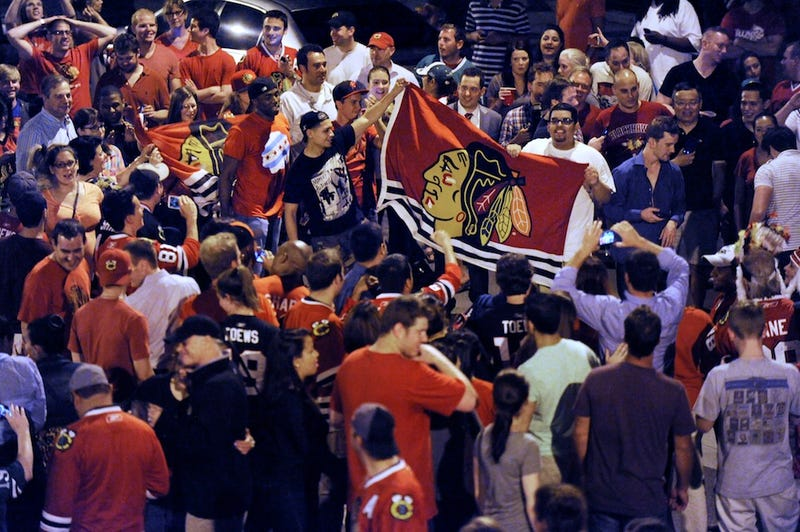 PHOTOS: Chicago's Stanley Cup Celebrations Got Slightly Out Of Hand