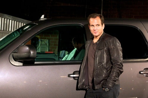 Don't Touch Will Arnett's GMC Pickup