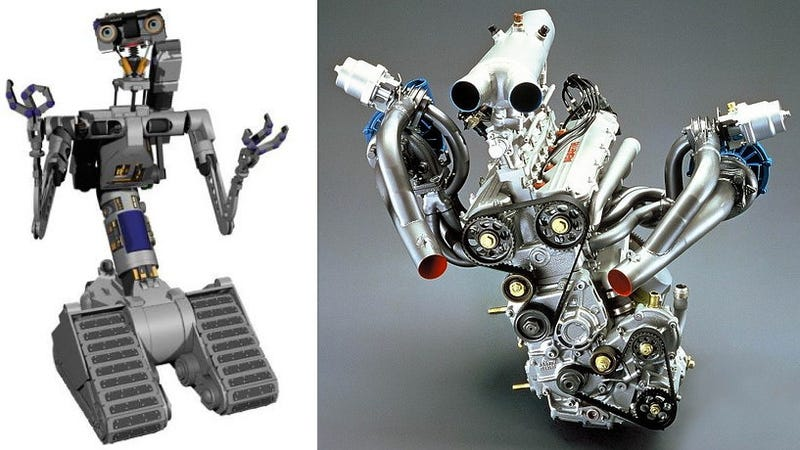 Was this Italian engine modeled after Johnny 5 from Short Circuit?