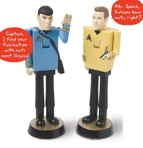 Star Trek Nutcrackers Are Logical Additions to the Holiday Season