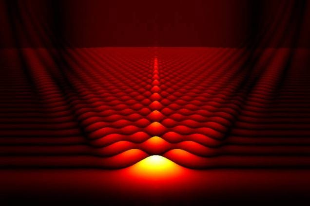 Sub-Atomic Particles Could Accelerate Themselves