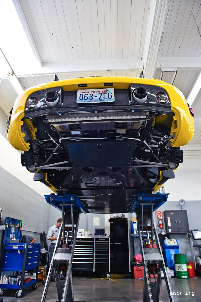 Porsche Carrera GT 4 Year Service 2