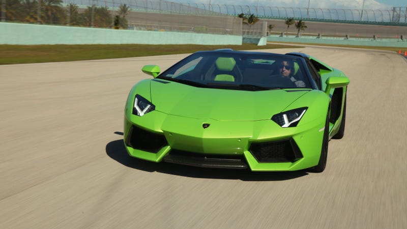2013 Lamborghini Aventador Roadster: The Jalopnik Review
