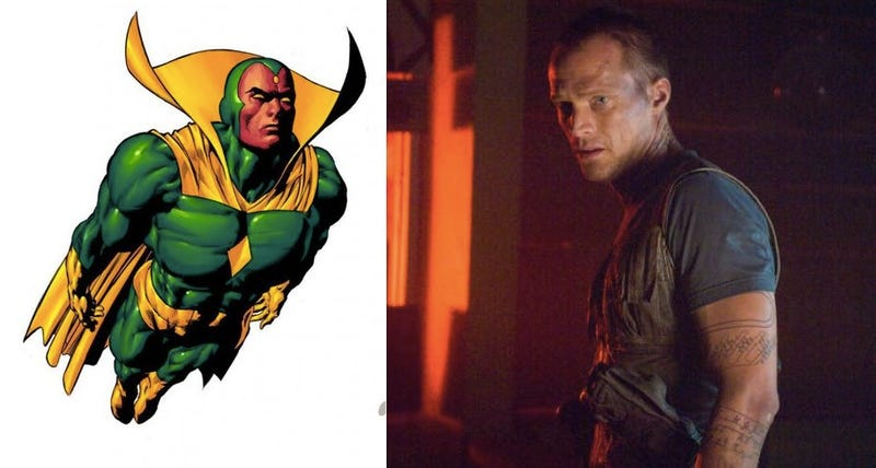Paul Bettany has been cast as the Vision in Avengers: Age of Ultron