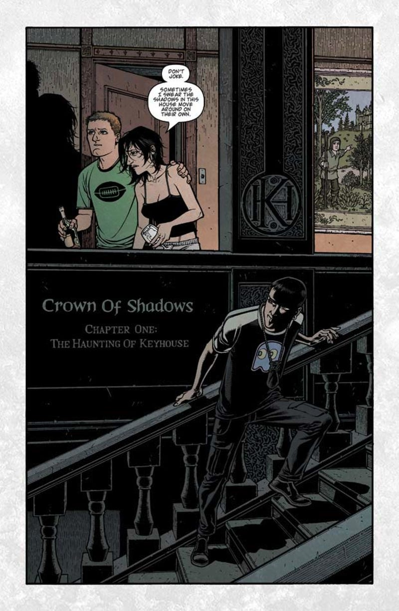 Locke & Key: Crown Of Shadows #1 Exclusive Preview