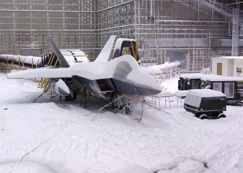 Inside the military lab where they freeze and cook entire airplanes