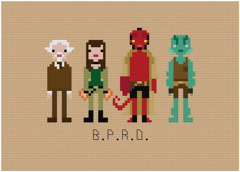I Want All These Impossibly Cool 8-Bit Cross-Stitches