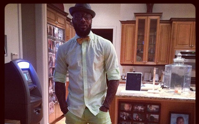 DeShawn Stevenson Has An ATM In His Kitchen, For Some Odd Reason