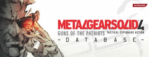 Metal Gear Solid 4 Interactive Database Coming To PlayStation Store Tomorrow