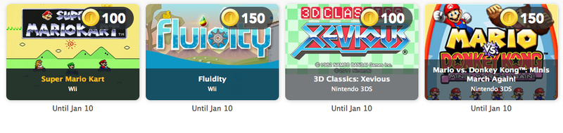 Club Nintendo Now Rewards With Games