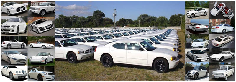 Consumers Pick White As Most Popular Car Color... Again