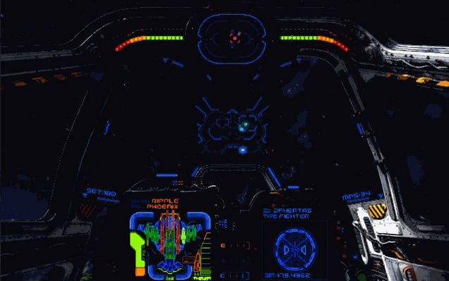 A Retro-Style Space Shooter Inspired By X-Wing