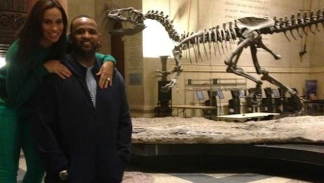 C.C. Sabathia And His Wife Are Spending Valentine's Night With Dinosaurs And Twitter