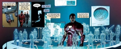 Invincible Iron Man Shows The Future Of Men Of Steel