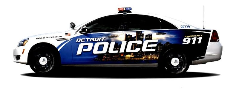 Did The Detroit Police Steal The Image Used On Their New Squad Cars?