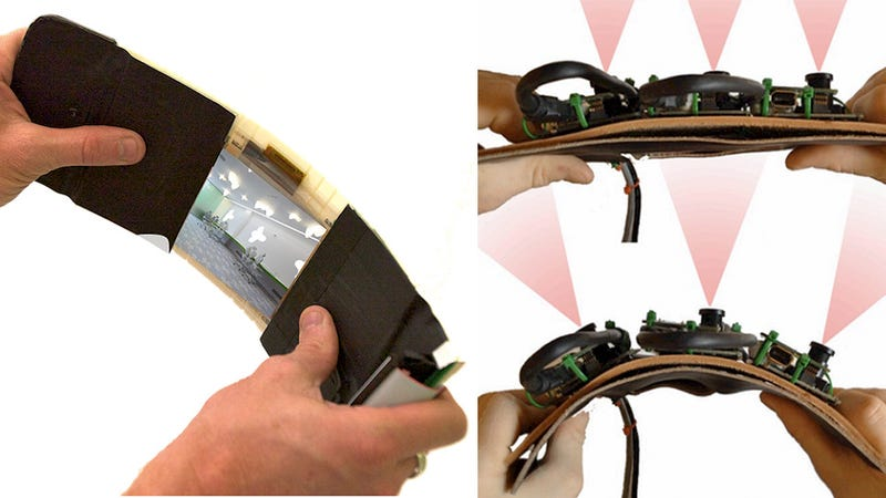This Flexible OLED Camera Can Snap One-Shot Panoramic Photos