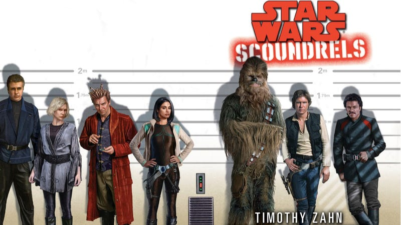 An Exclusive First Look at Timothy Zahn's New Star Wars Novel, Scoundrels
