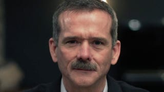 Astronaut Chris Hadfield explains why humans should be optimistic