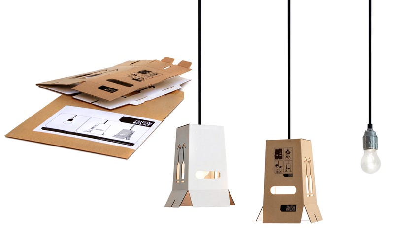 When Your Furniture Comes Flat-Packed, Why Not Your Lampshades?