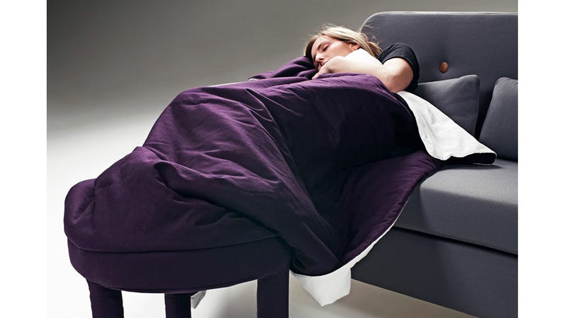 Roll Up Blanket Chair Gets Extra Cozy If You Can Figure Out How To Use It