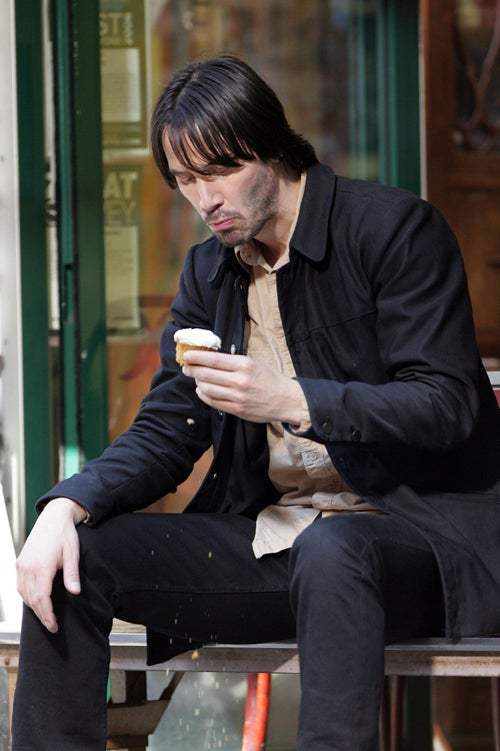 Sad Keanu Is Team Cupcake