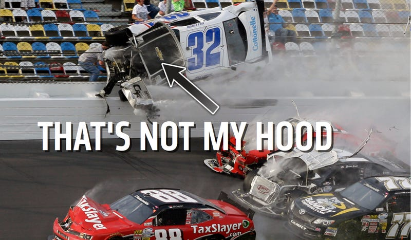 How Not To Start Your First NASCAR Sprint Cup Season