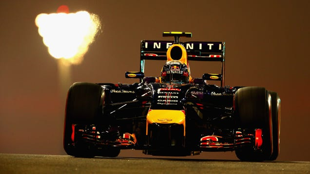Red Bull Gives You Illegal Wings; Faces Grid Penalty