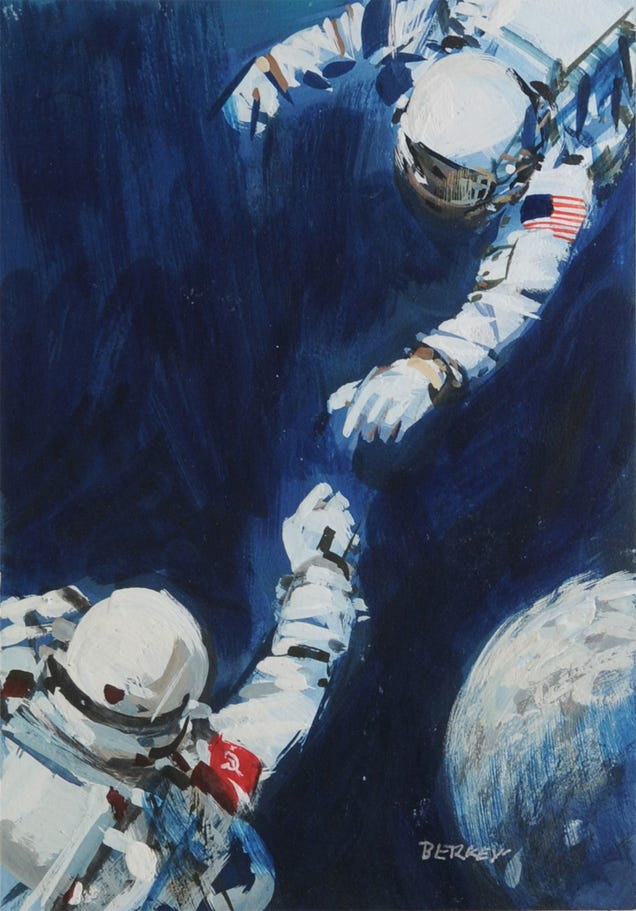 The Space Artist Who Perfectly Painted All Our Cosmic Dreams