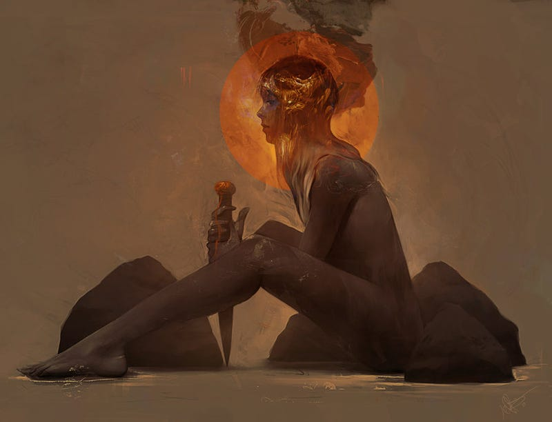 The Creepy Gorgeous Fantasy Art of Jeff Simpson