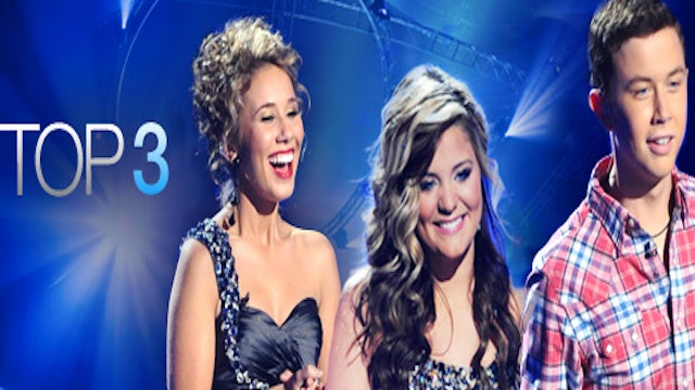 Live: American Idol's Top 3 Perform