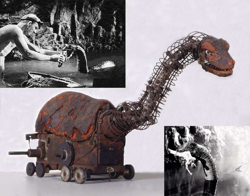 The Brontosaurus model from the original King Kong looks cooler today than it did 80 years ago