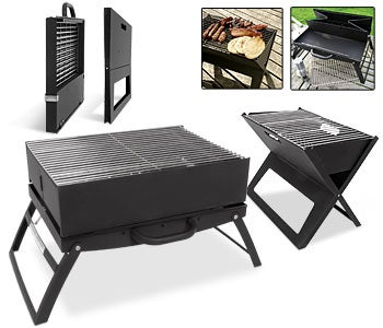 Portable Grill: Now you can BBQ on the Subway
