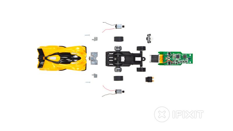 Anki Drive Connected Toy Car Teardown Reveals Predictably Adorable Guts