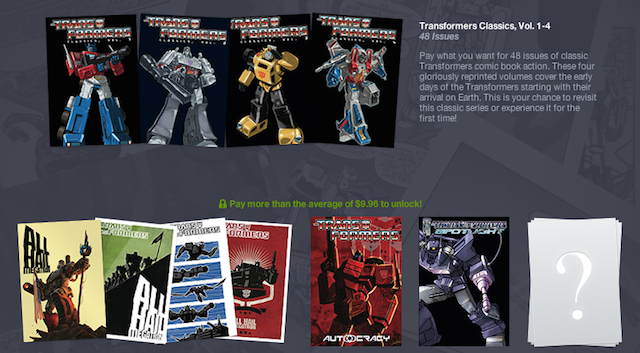 Deals: Twin Peaks: The Entire Mystery, Transformers Comics, PS1 RPGs