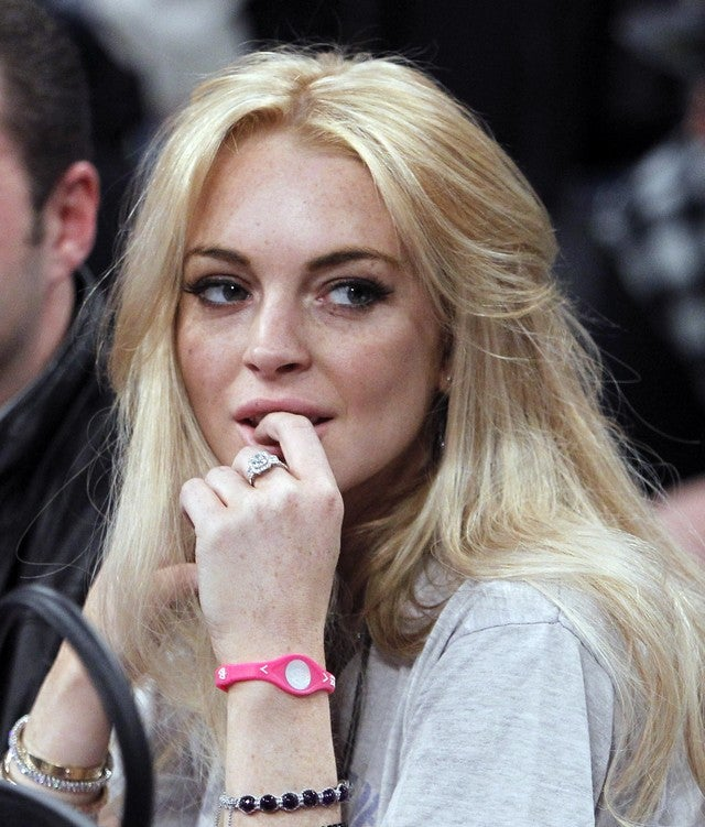 Lindsay Lohan To Be Charged With Felony Grand Theft