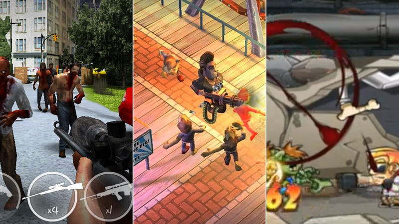 Three Upcoming Mobile Zombie Shooters All At Once, All For You