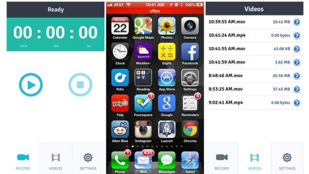 If You Want This iOS Screen-Recording App You'd Better Hustle