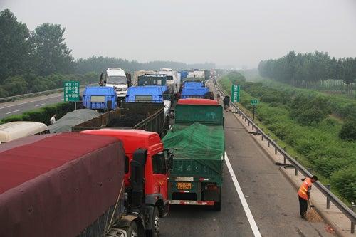 Longest Traffic Jam Ever?