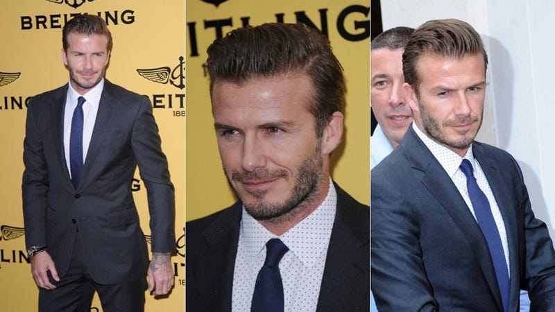 David Beckham's Facial Hair: Yay or Nay?