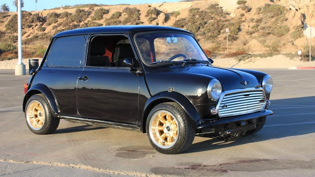 Austin Mini With Yamaha R1 Engine Swap Is One Serious Little Brit