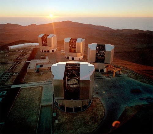 Post-Earthquake: Why Chile's Telescopes Survived
