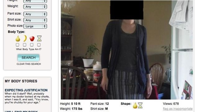 New Website Allows Users To See Bodies That Share Your Height And Weight