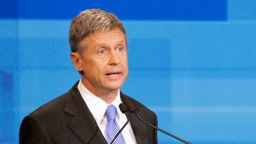 Hopeless Gary Johnson Now Just Talking to Pagans