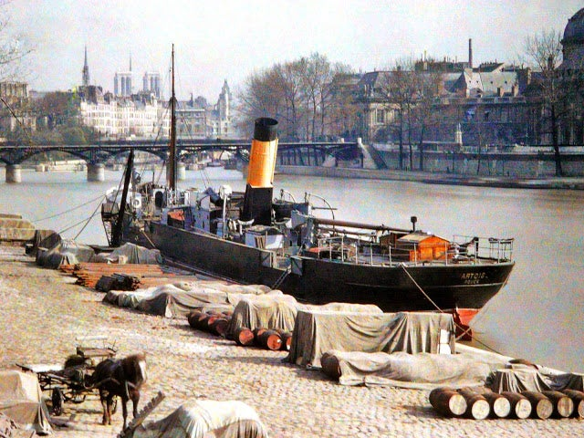 These exceptionally rare color photographs show Paris at turn of the 20th century [Updated]