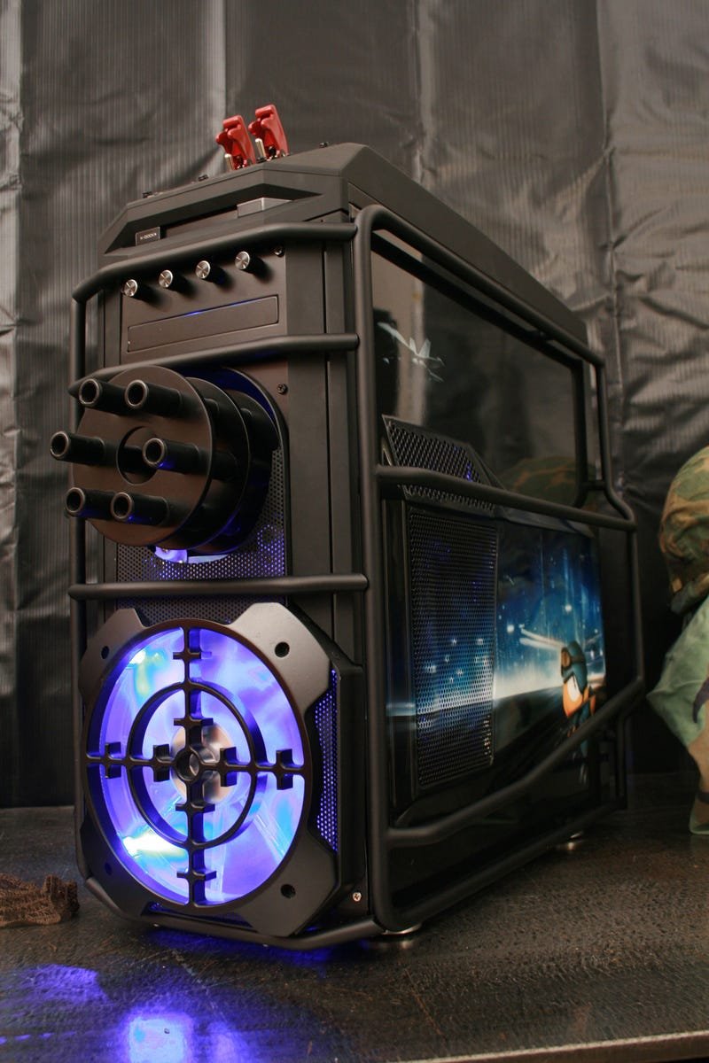 Check Out This Battlefield Case Mod. It Has a Freakin' Chain Gun.